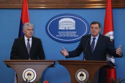 ČOVIĆ RAZAPET NA DVIJE STRANE Lider HDZ BiH pod pritiskom da se odmakne od Dodika zbog NATO