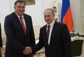 """""""Nastavite putem razvoja i napretka"""" Dodik čestitao Putinu Dan Rusije"""