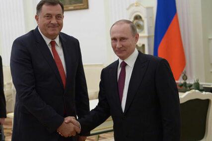 Predsjednik Srpske se u petak sastaje sa Vladimirom Putinom