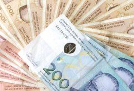 REKORDAN PRIHOD Za četiri mjeseca od doprinosa za PIO prikupljeno 318,45 miliona KM