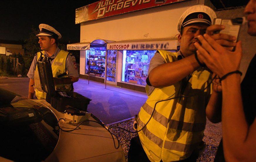 UHAPŠENI NESAVJESNI GRAĐANI Vozili pijani u vrijeme policijskog časa