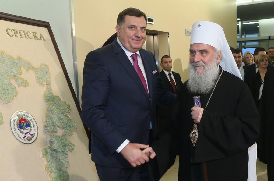 """""""NASTAVLJA SE ATAK NA SPC"""" Dodik i Irinej izrazili zabrinutost zbog dešavanja u Crnoj Gori"""