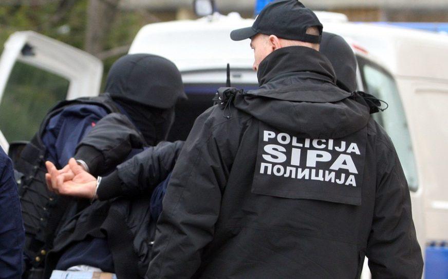 UHAPŠEN PO POTJERNICI SIPA uhapsila bjegunca iz Hrvatske
