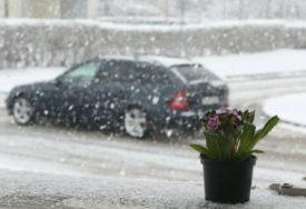 SNIJEG U VEĆINI KRAJEVA SRPSKE Temperatura od minus dva do tri stepena