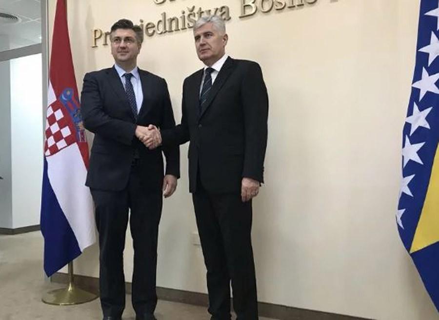 """""""SAMI DONOSE ODLUKE"""" Plenković komentariso dolazak Čovića na obilježavanje Dana Republike Srpske"""
