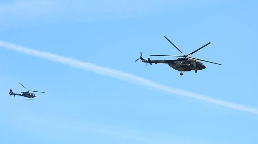 PALA DVA PARAGLAJDERA U akciji spasavanja učestvovao i helikopter