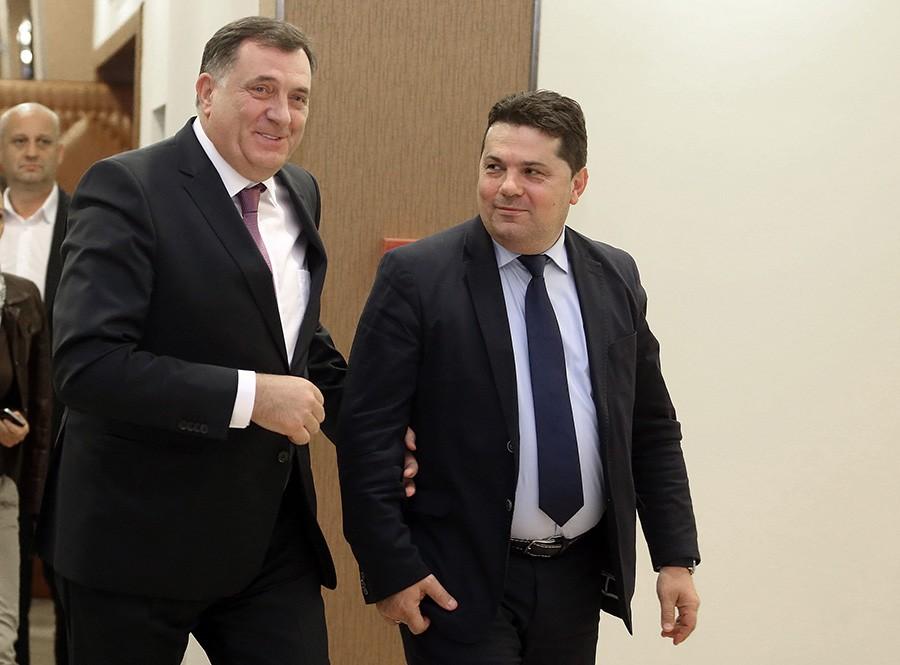 """""""Komšić bi mogao da odgovara za lažno prijavljivanje"""": Stevandić tvrdi da je Dodik u pravu"""
