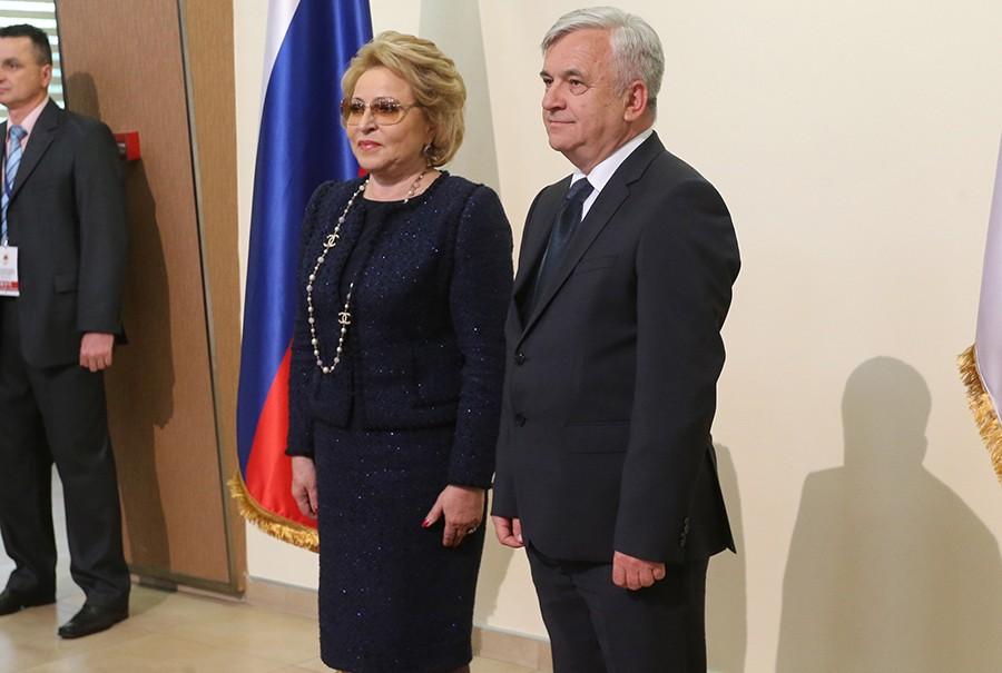 Matvijenko pozvala Čubrilovića u posjetu Ruskoj Federaciji i čestitala izbor za predsjednika Narodne skupštine