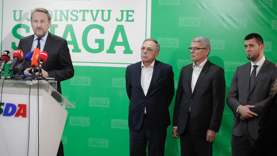 Zvizdić, Softić i Džaferović kandidati za člana Predsjedništva BiH ispred SDA