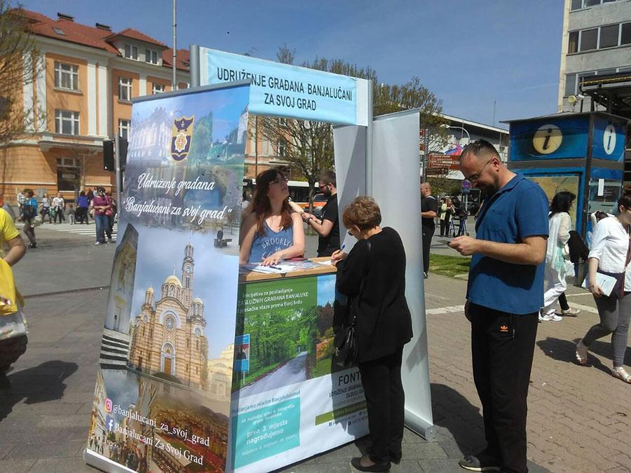 """""""Banjalučani za svoj grad"""" traže da se vrati fontana koja je nekada bila u parku Petar Kočić"""
