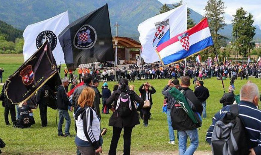 Za fašistički pozdrav u Blajburgu kazna do 5.000 EVRA: Hrvat do daljnjeg OSTAJE U ZATVORU