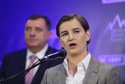 Brnabić: Interesi Srbije članstvo u Evropskoj uniji i stabilan region