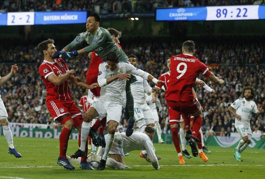 Sjajan meč u Madridu, Real prvi finalista Lige šampiona