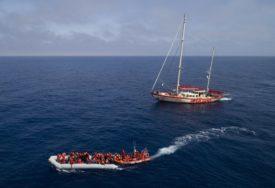 SPASAVANJE NA MORU Italijanski teretni brod spasio 200 migranata