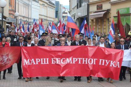 """Proslava Dana pobjede nad fašizmom: Poziv za učešće u maršu """"Besmrtnog puka"""""""