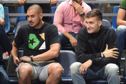 VJEŽBA KOD KOMŠIJE Bogdanović još čeka na naručeni koš