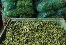 Povećano prisustvo pesticida: Zabranjen uvoz krastavca iz Sjeverne Makedonije