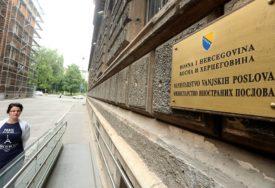 KONTAKTI U IZOLACIJI Dvije osobe u Ministarstvu inostranih poslova BiH zaražene koronom