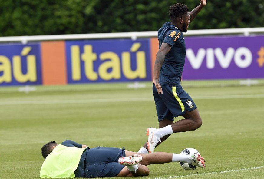 Problem za Brazil: Kazemiro povrijedio Freda na treningu
