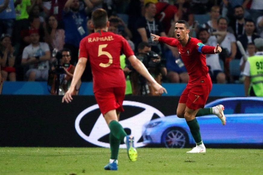 Ronaldo igra protiv Srbije