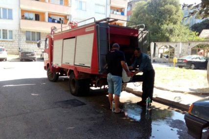 Zbog pucanja glavne cijevi nema vode u Trebinju