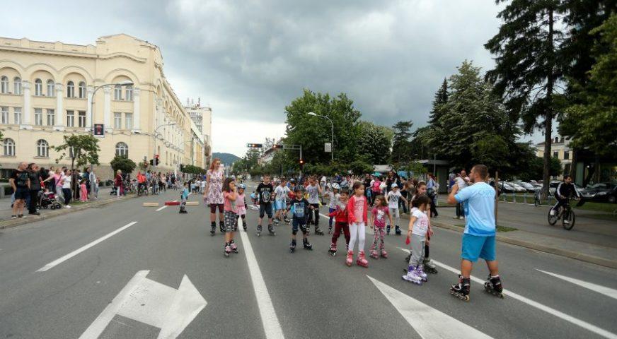 I ovog vikenda centar grada je pješačka zona, danas zakazana rolerijeda