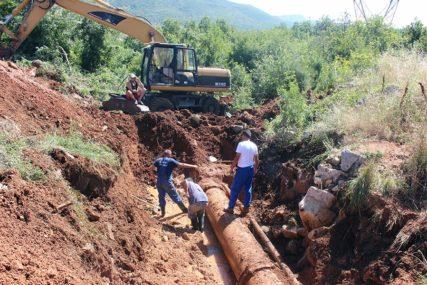 Otklonjen kvar na cjevovodu u Trebinju
