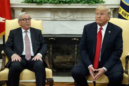Junker: EU i SAD su partneri i saveznici; Tramp: Želimo fer trgovinu
