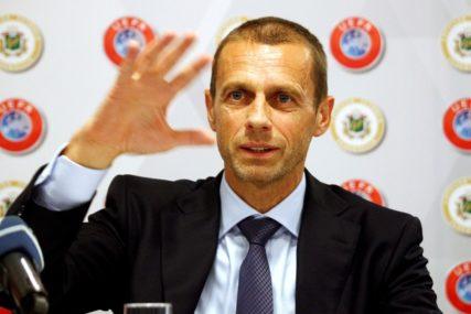 Čeferin juri drugi mandat na čelu UEFA