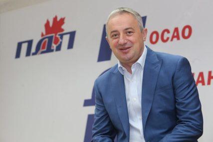 Borenović: PDP dosljedan bazičnim vrijednostima političkog djelovanja
