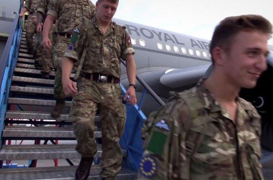 VJEŽBA EUFORA Više od 120 britanskih vojnika stiglo u Sarajevo