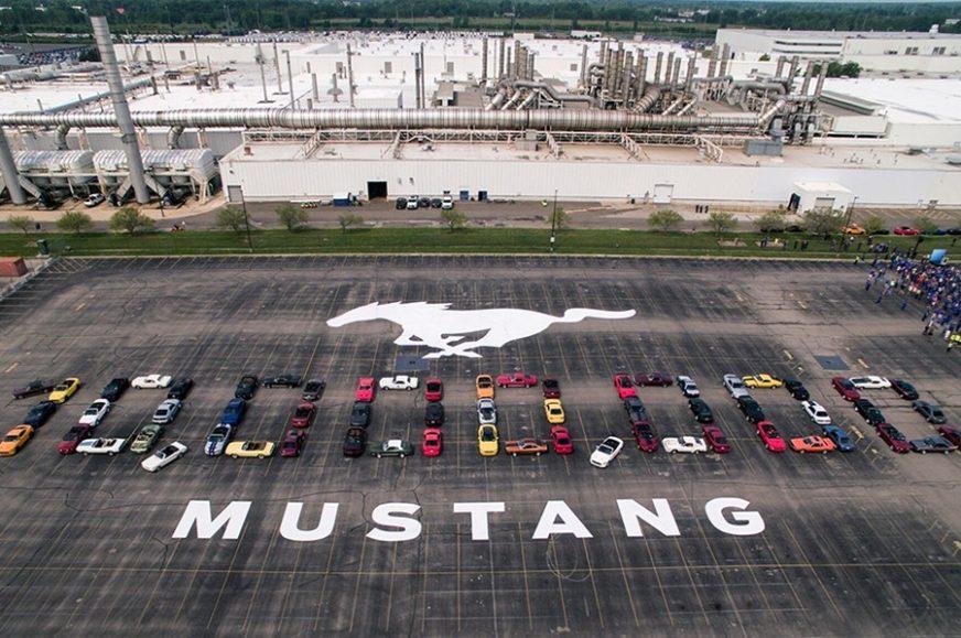 """Ford proslavio proizvodnju 10 miliona """"mustanga"""""""