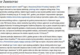HRVATSKA VIKIPEDIJA DOTAKLA SAMO DNO Činjenice o Jasenovcu okvalifikovane sramotno