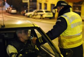 PIJANI ZA VOLANOM Alkoholisani vozači na hercegovačkim putevima