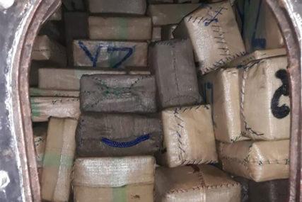 U luci na Kritu zaplijenjena droga vrijedna preko 100 miliona evra