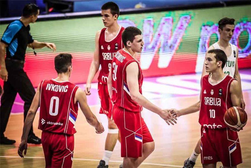 """""""ORLIĆE"""" GLEDALA EVROPSKA KOŠARKAŠKA LEGENDA Kadetska reprezentacija bolja od Litvanije"""