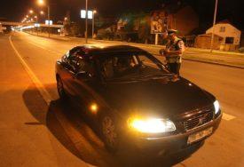 UHAPŠEN PIJANI VOZAČ Vozio sa 1,69 promila alkohola u krvi