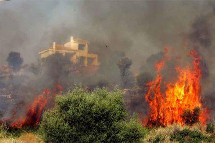 EKOLOŠKA KATASTROFA Izgorjelo gotovo 100.000 hektara šume i njiva u Grčkoj