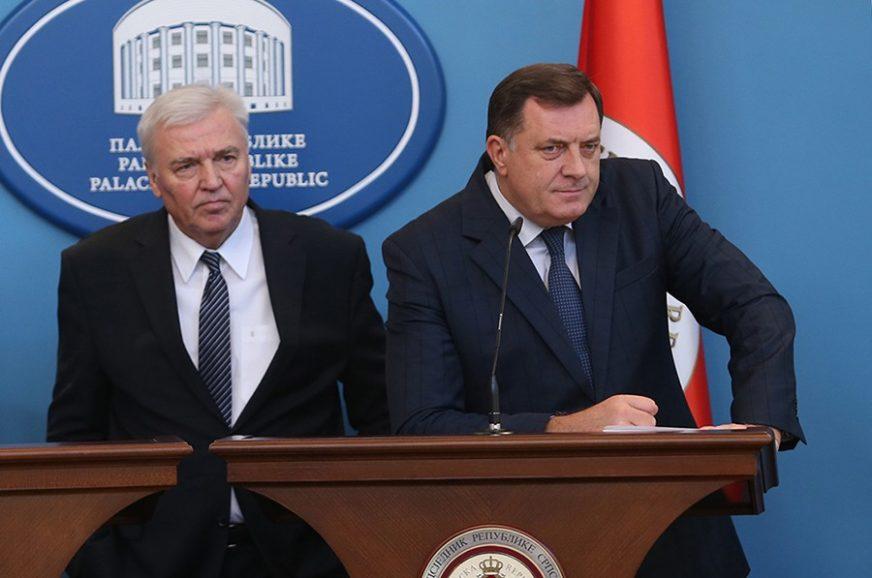 KOALICIONI KLINČ Dodik i Pavić ukrstili koplja oko premijera