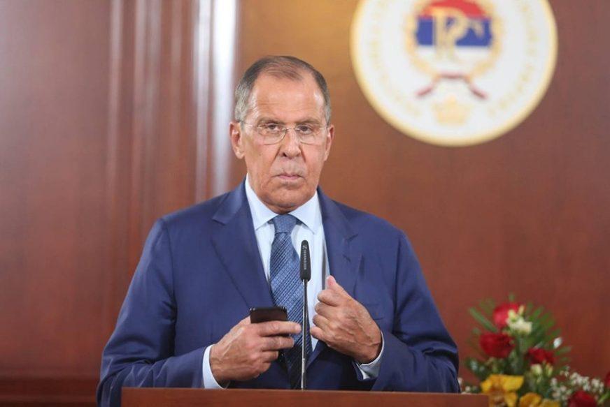 """LAVROV JASAN """"Moskva neće oklijevati da odgovori Vašingtonu"""""""