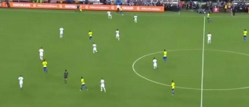 ODUŠEVIO SVIJET Firmino je pogodio za Brazil, ali svi pričaju o MUNJEVITOM TRKU jednog čovjeka (VIDEO)