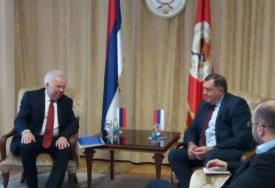 Sastanak Dodika i Ivancova: Razgovarano o aktuelnoj političkoj i ekonomskoj situaciji