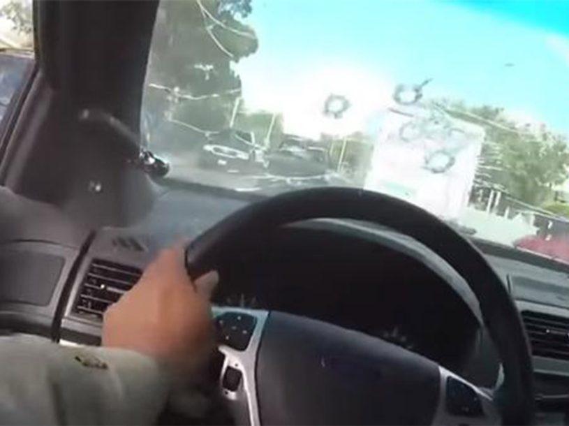 UHAPŠEN VOZAČ Policajca pregazio automobil dok je MJERIO BRZINU