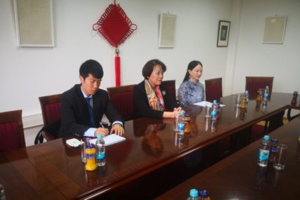 GOST U BANJALUCI Ambasador Kine posjetila Konfucijev institut