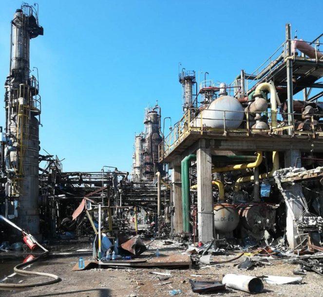 DAN POSLIJE EKSPLOZIJE Pogledajte kako izgleda unutrašnjost Rafinerije nafte u Brodu (FOTO)