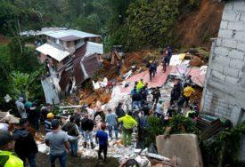 AKTIVIRALO SE KLIZIŠTE NA SJEVERU KINE Sedam osoba poginulo, zatrpane dvije zgrade