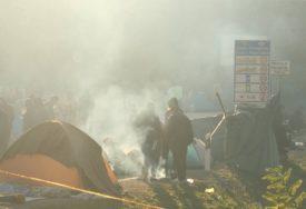 ODRŽAN PROTEST Traže da se migranti prestanu dovoziti u Krajinu