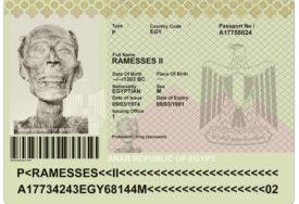 ŽIVOT POSLIJE SMRTI Faraon Ramzes Veliki dobio je pasoš 3.000 godina NAKON ŠTO JE UMRO
