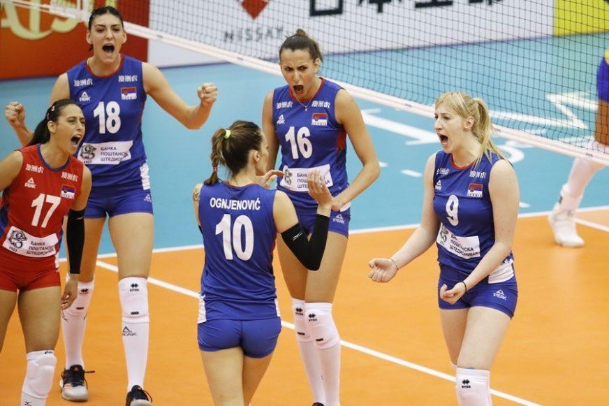 Odbojkašice Srbije sjajne, i protiv Brazilki bez izgubljenog seta