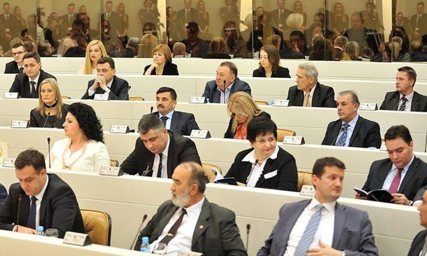 JEDINSTVO USPJELO SAMO TRI PUTA Srbi u institucijama BiH ponovo biraju između stranačkih i nacionalnih interesa